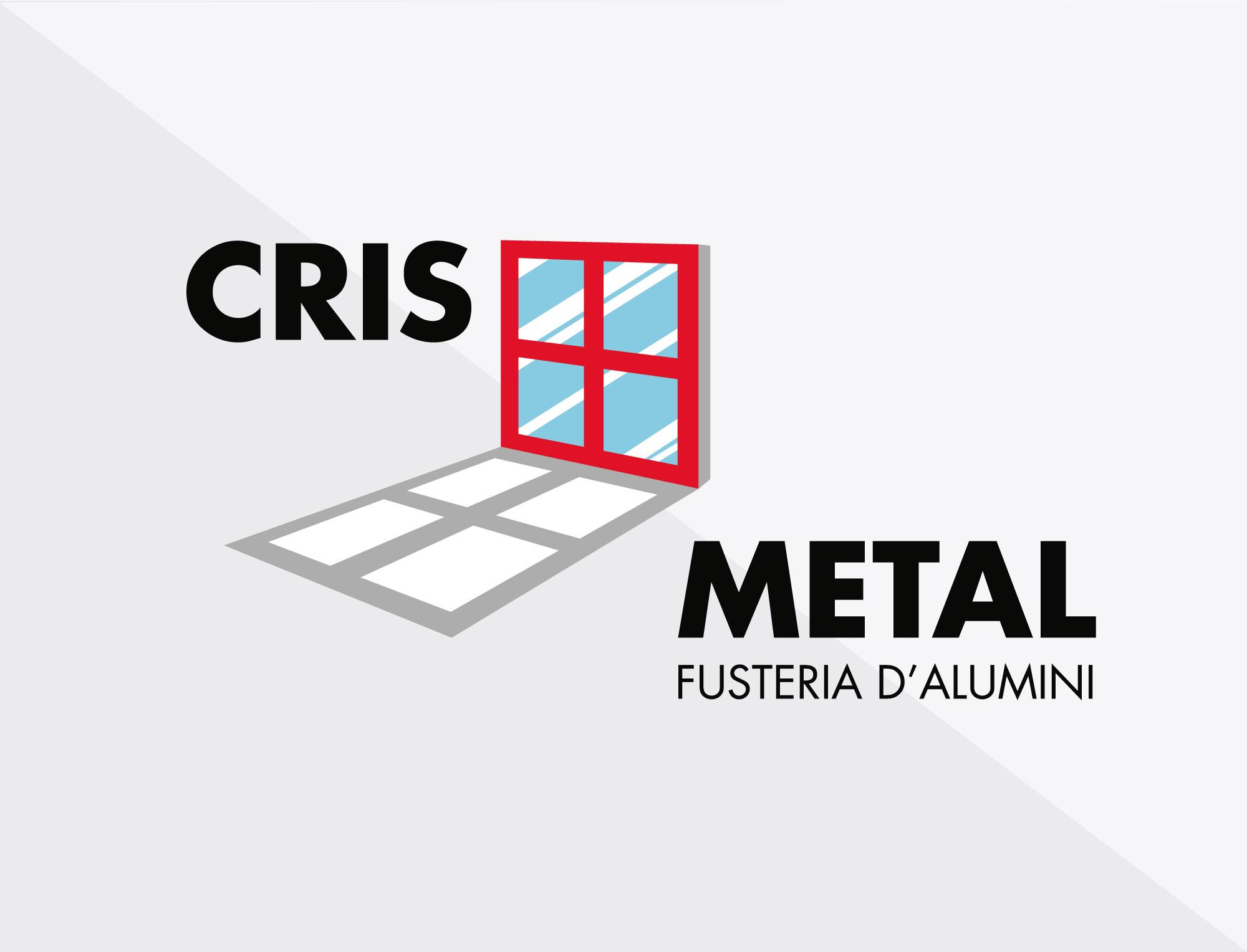 Redisseny de logotip. Disseny gràfic. Logotip Cris Metal